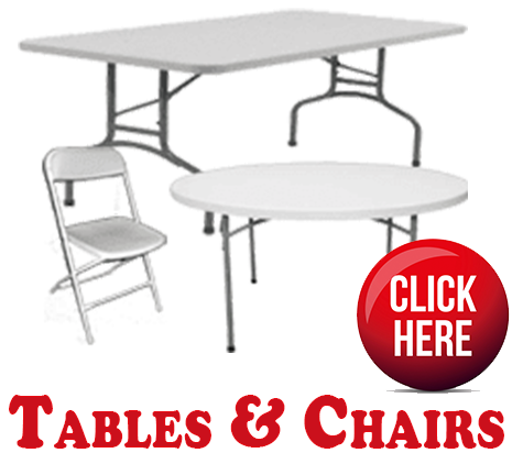 Tables & Chairs Rentals In Miami