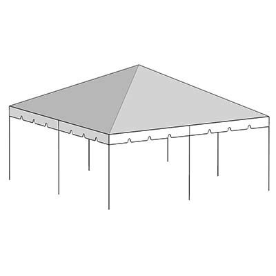 20x20 Classic Frame Tent (Seat up to 48 People)