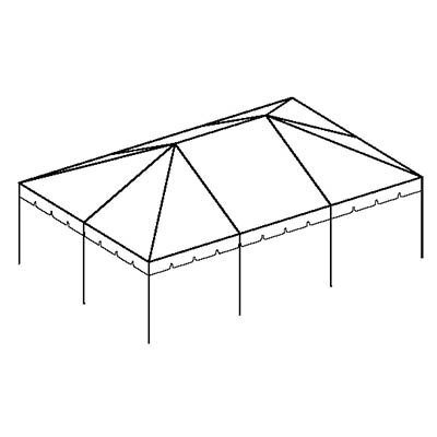 20x30 Classic Frame Tent (Seat up to 84 People)