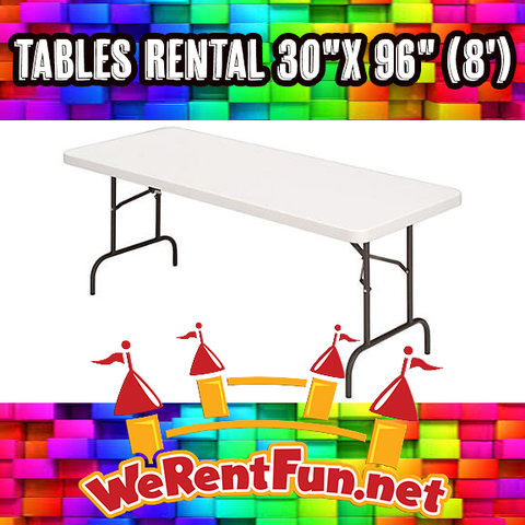 *Tables Rental 30
