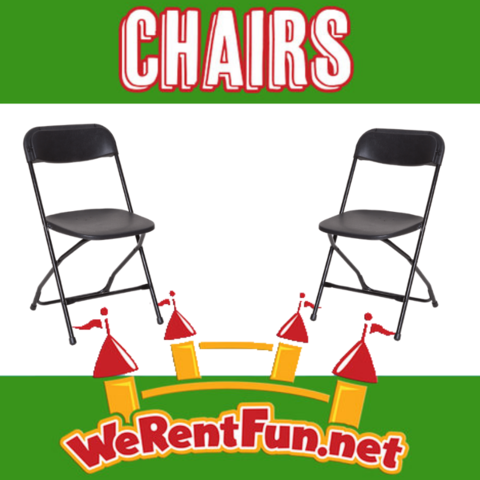 *Chairs Rental (Black)