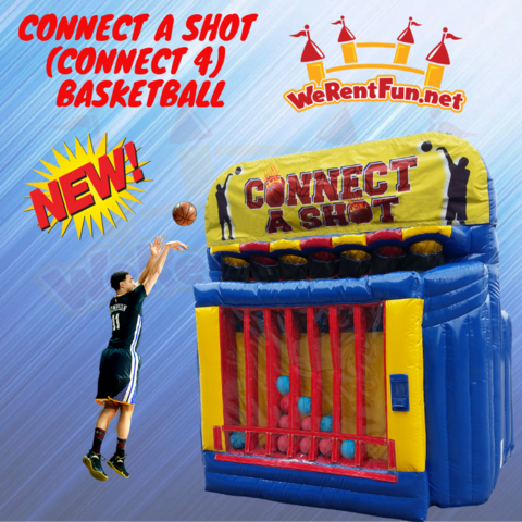 Connect A Shot (Connect 4) Basketball
