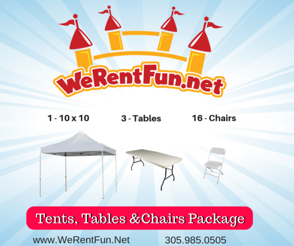 Package Table, Chairs & Tables 1