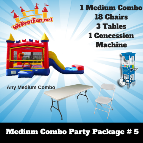 P16 Medium Combo Party Package 5