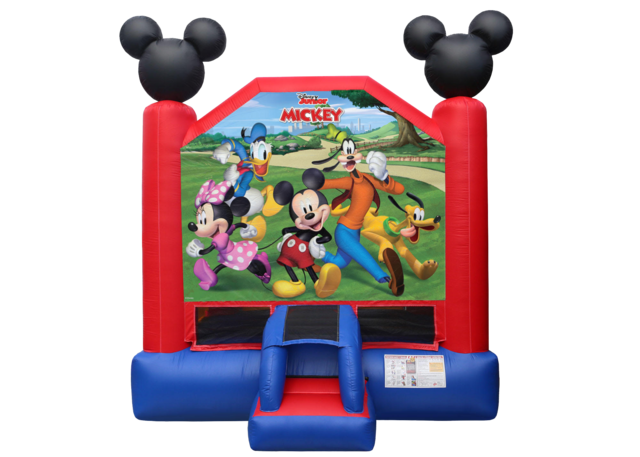 Mickey and Friends Bounce House 13 x 13