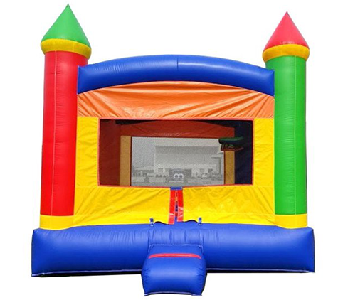 B03 Crossover Rainbow Bounce House