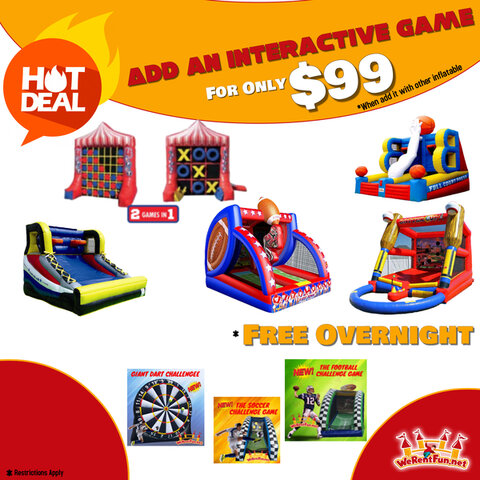 Add An Interactive Game For Only $99