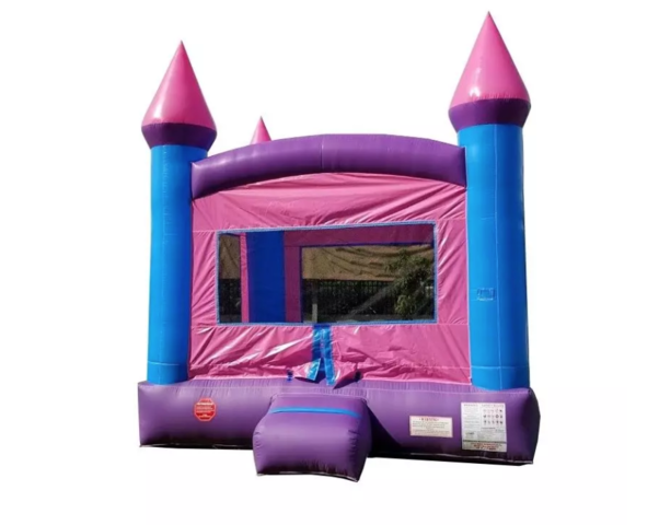 B04 Crossover Pink Bounce House