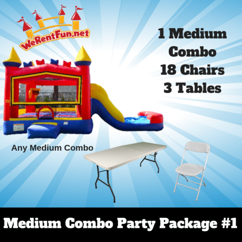 P12 Medium Combo Party Package # 1