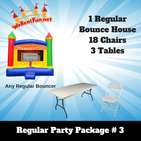 P14 Regular Party Package #3
