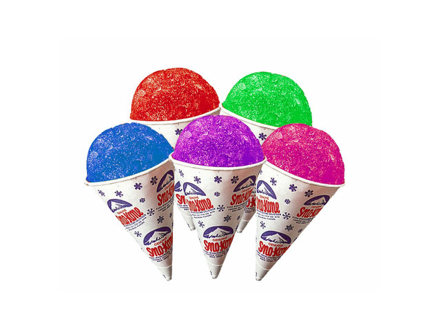 Extra 25 Snow Cone Cups