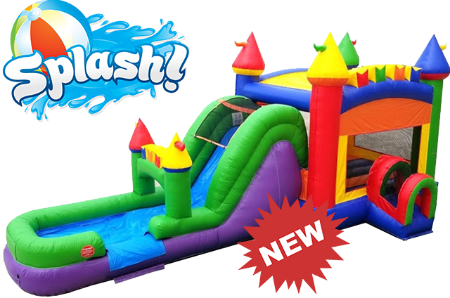 THE FUN MULTI COLOR CASTLE (WET) COMBO