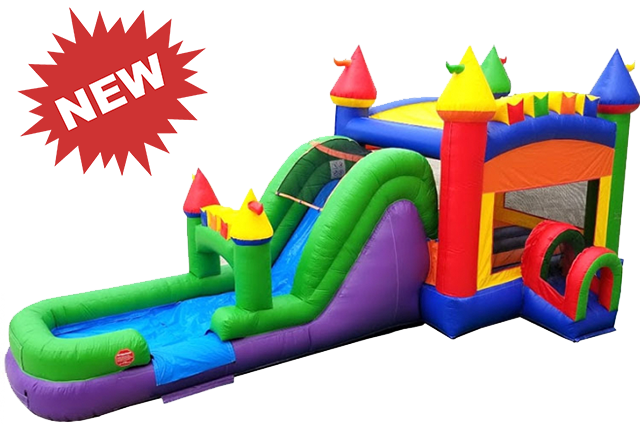 THE FUN MULTI COLOR CASTLE  (DRY) COMBO