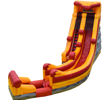 R40 - 22 FT Twister Water Slide With Pool