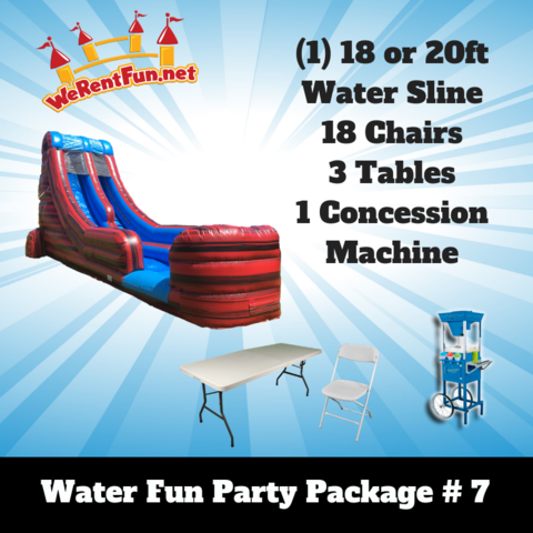 P18 Fun Water Package #7