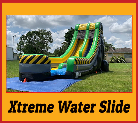 S06  20ft  Xtreme Water Slide _ wet