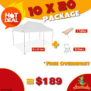 10 x 20 Package