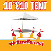 Tent Rentals 10' X 10'  (Seat up to 10 People)