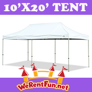 Tent Rentals 10 X 20  (Seat up to 20 People)