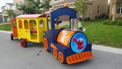 Trackless train - Price Per Hour