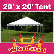 Tent Rentals 20' X 20' (Seat up to 48 People)