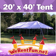 Tents Rentals 20' X 40' (Seat up to 100 People)