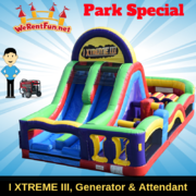 "<font color=Green><b>P16 <font color=Grey><b> Park Package # 16 - I XTREME III OBSTACLE COURSE <span style=""color:#ff0000;"">  <strike> $499</strike> </span>"