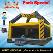 "<font color=Green><b>P17 <font color=Grey><b>Park Package # 16 WRECKING BALL <span style=""color:#ff0000;"">  <strike> $475</strike> </span>"