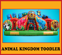 T03 Animal Kingdom Toddler Play CenterBest for ages 0 - 5  Space Needed 20'W x 20'L x 13'H