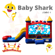 C27 C27 Baby Shark (5 In 1) Combo 1 Best for ages 2+ Space Needed 30 L x 19 W x 20 H