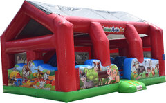 R12Barnyard Petting Zone Toddler Play CenterBest for ages 0 - 5  Space Needed 23 D x 26 W x 17 H