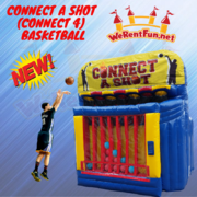 <font color=Green><b>G10<b><font color=red><b> Connect A Shot (Connect 4) Basketball  </font><br><small>Best for ages 5+<br> <font color=blue>Space Needed 14 D x 12 W x 15 H</font></b></small>