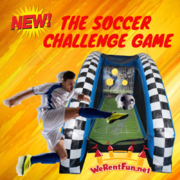 G07 Soccer Challenge  Best for ages 5+ Space Needed 16 D x 16 W x 12 H