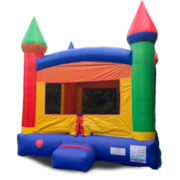 <font color=Green><b>B03<b><font color=red><b> Crossover Rainbow Bounce House  </font><br><small>Best for ages 2+<br> <font color=blue>Space Needed 15 D x 16 W x 18 H</font></b></small>