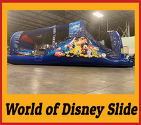 S07 World of Disney Slide Best for ages 2+ Space Needed 36 L x 20 W x 20 H