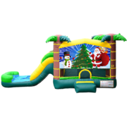 X03   Holidays TROPICAL Bounce Combo  (5 IN 1)