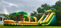 S06 55FT Super Long Aloha Water  Slide  Best for ages 5+ Space Needed 60 D x 20 W x  22 H