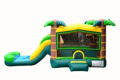 C10 Aloha Bounce House With Slide (Wet/Dry) Combo Best for ages 2+ Space Needed 30 L x 19 W x 20 H
