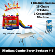 <font color=Green><b>P16<font color=Grey><b> Medium Combo Party Package 5