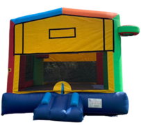 R7 - Mega multi-Colors Bounce House