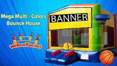 <font color=Green><b>B01 <font color=grey><b> Mega multi-Colors Bounce House
