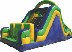 R4330' Radical Rock Climb Slide (C)Best for ages 5+ Space Needed 36' Length X 20' Width X 20' Height