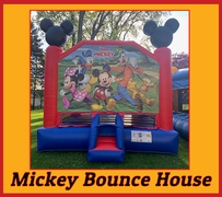 B07 Disney Mickey and Friends Bounce House  Best for ages 2+ Space Needed 18 D x 16 W x 18 H