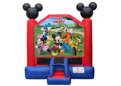 <font color=Green><b>B07</b> <font color=red><b>Mickey and Friends Bounce House <font color=black><b>  13 x 13