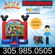 "Mickey Park Package  <span style=""color:#ff0000;""> <strike> $235 </strike> </span>"