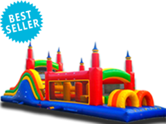 OC01 47′ BEAST MASTER OBSTACLE COURSE Best for ages 5+ Space Needed 53 L x 20 W x 18 H