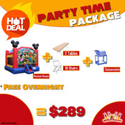 Party Time Package