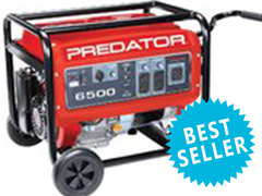Generator - 2 Outlets - Comes with full tank of gas.