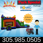 "Park Package # 7 Fun Multi Color Castle Combo <span style=""color:#ff0000;"">  <strike> $265 </strike> </span>"