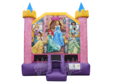 <font color=Green><b>B05 <font color=red><b>Disney Princess Bounce House <font color=Black><b>13 x 13